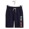 "Navy ""New Haven"" Logo Sweat Shorts"