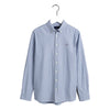 "Navy & White Striped ""Archive Oxford"" Shirt"