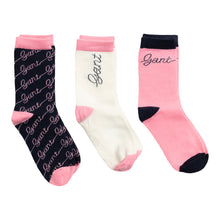 Load image into Gallery viewer, Pink Girls 3-Pack Socks