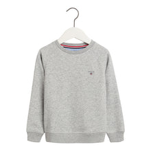 Load image into Gallery viewer, Grey Crewneck Sweat Top
