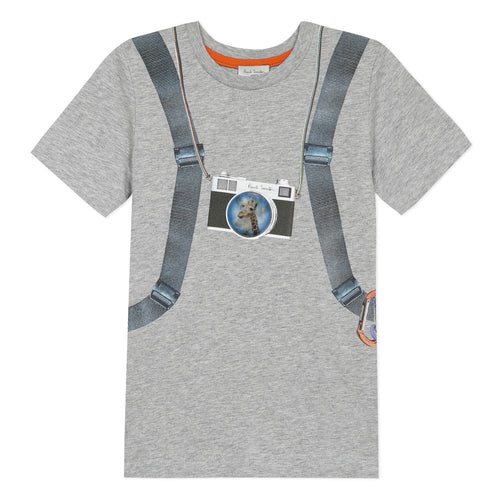 Grey Backpack T-Shirt