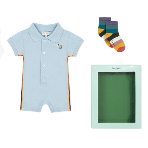 Baby Blue Shortie Gift Set