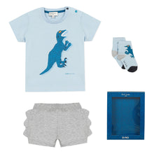 Load image into Gallery viewer, Blue Dino Gift Set