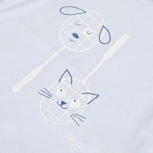 Load image into Gallery viewer, Blue Badminton T-Shirt