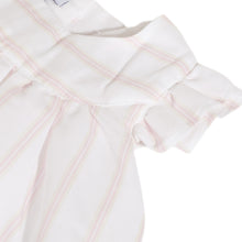 Load image into Gallery viewer, White & Pink Stripe Dress