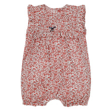 Load image into Gallery viewer, Red Liberty Floral Shortie