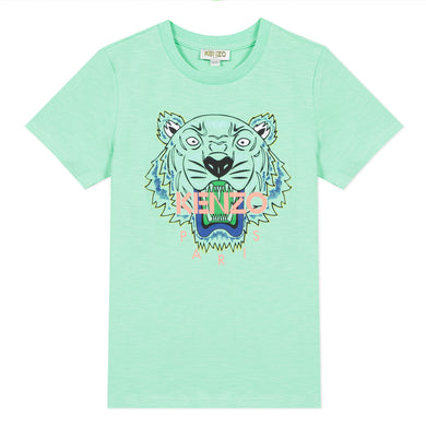 Mint Green Tiger T-Shirt