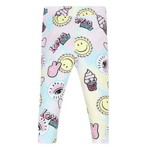 Load image into Gallery viewer, Pink & Green Fun Print Leggings