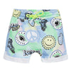 KENZO Green & Blue Fun Print Shorts