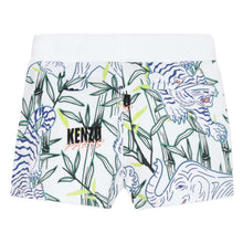 Load image into Gallery viewer, White Jungle Print Shorts