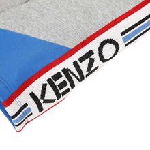 Load image into Gallery viewer, KENZO Boys Grey & Blue Sweat Shorts