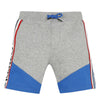 KENZO Boys Grey & Blue Sweat Shorts