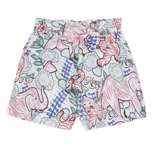 Load image into Gallery viewer, White Animal Print Shorts