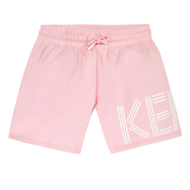 Pale Pink Logo Shorts