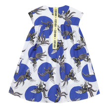 Load image into Gallery viewer, KENZO Blue & White Phoenix Dress