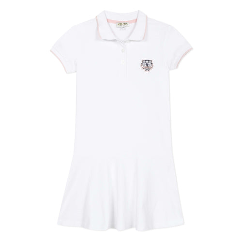 White Polo Dress