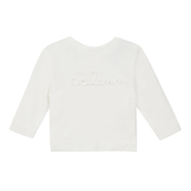 Ivory 'Cuddles' Knit Top