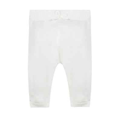 Ivory Knit Trousers