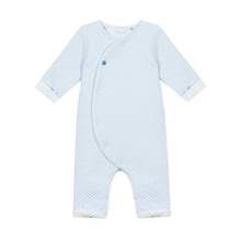 Load image into Gallery viewer, Blue Padded Babysuit