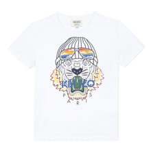 Load image into Gallery viewer, White Tiger Ski T-Shirt