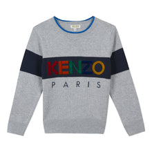 Load image into Gallery viewer, Boys Grey Knit Jumper