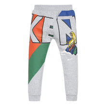Load image into Gallery viewer, Grey Graphic Sweat Pants