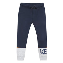 Load image into Gallery viewer, Navy & Grey Sweat Pants