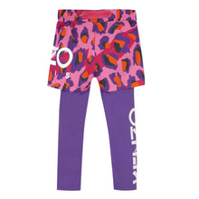Load image into Gallery viewer, Pink 2 in 1 Shorts & Leggings