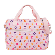 Load image into Gallery viewer, Pink Logo Changing Bag Set