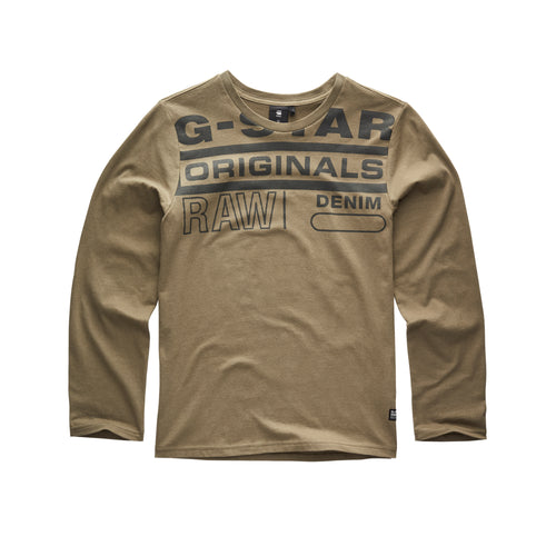Khaki 'Originals Raw' Top