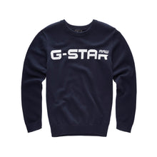Load image into Gallery viewer, Navy Knit Jumper