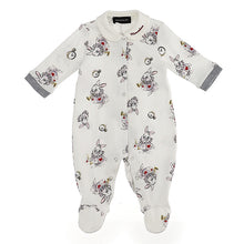 Load image into Gallery viewer, Ivory The White Rabbit Babygrow