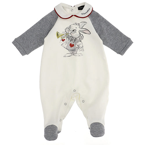 The White Rabbit Babygrow