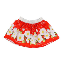 Load image into Gallery viewer, Red Flower Skirt