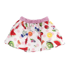Load image into Gallery viewer, Polka Dot & Fruit Print Skirt