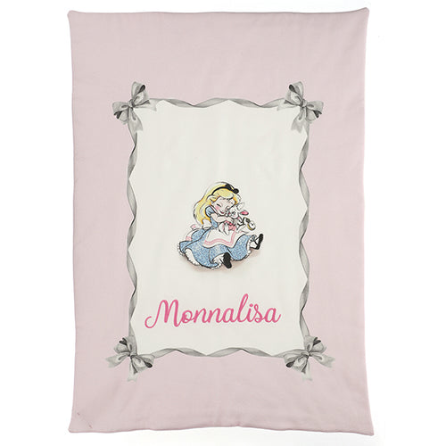 Pink & White Alice Blanket