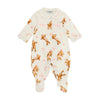 Ivory Teddy Pocket Babygrow