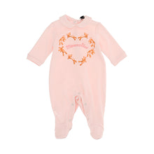 Load image into Gallery viewer, Pink Teddy Heart Babygrow
