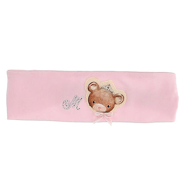 Pink Teddy Headband