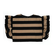 Load image into Gallery viewer, Beige & Black Stripe Top