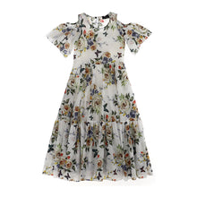 Load image into Gallery viewer, Ivory Roses Floral Dress