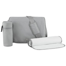 Load image into Gallery viewer, Grey Changing Bag Set