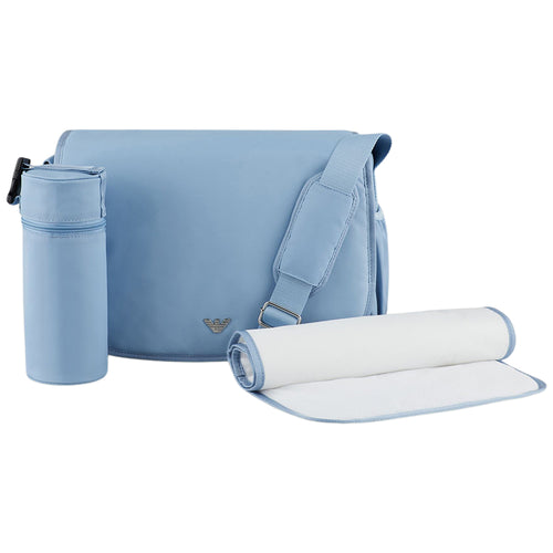 Blue Changing Bag Set