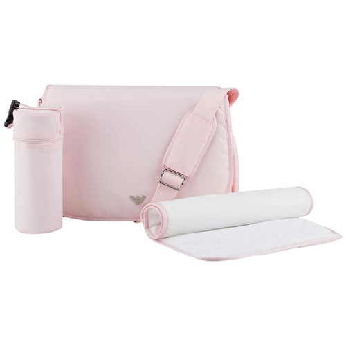 Pink Changing Bag Set