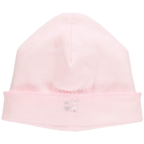 Pale Pink Baby Hat