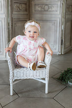 Load image into Gallery viewer, Pink Floral 2 Piece & Headband Set