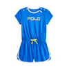 Blue Polo Sport Playsuit