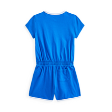Load image into Gallery viewer, Blue Polo Sport Playsuit