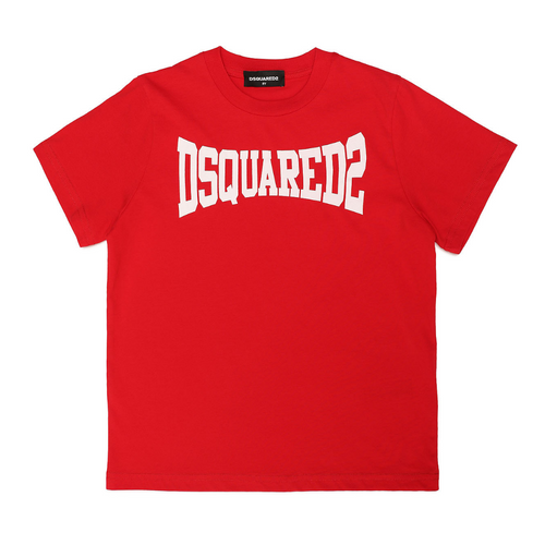 Red DSQUARED2 Logo T-Shirt