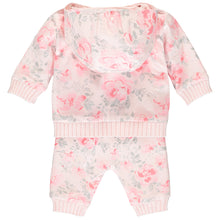 Load image into Gallery viewer, Pink Flower Tracksuit